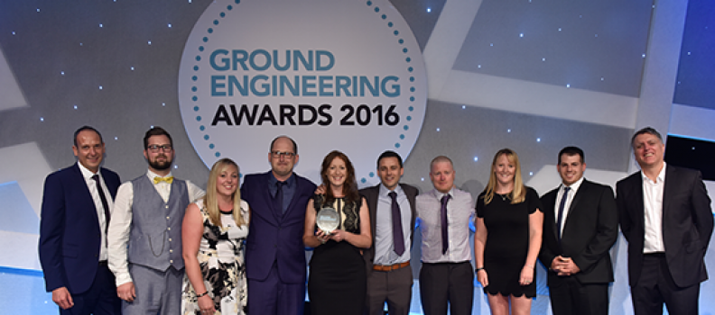 In Situ Site Investigation has won the Ground Investigation Specialist of the Year