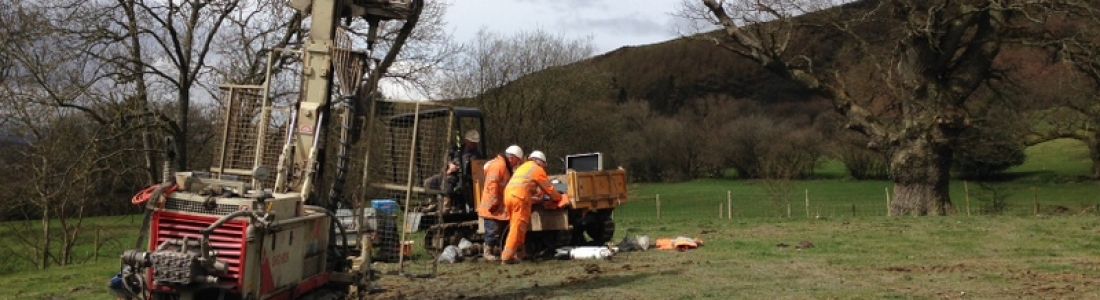 Pressuremeter Tests in the heart of the Welsh Valleys
